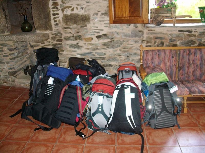 Qué llevar en la mochila del Camino de Santiago