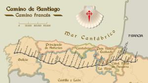 ¿Qué camino de Santiago hago?