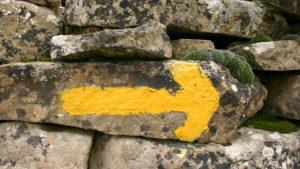 ¿Quién inventó la flecha amarilla que nos guía por el Camino de Santiago?