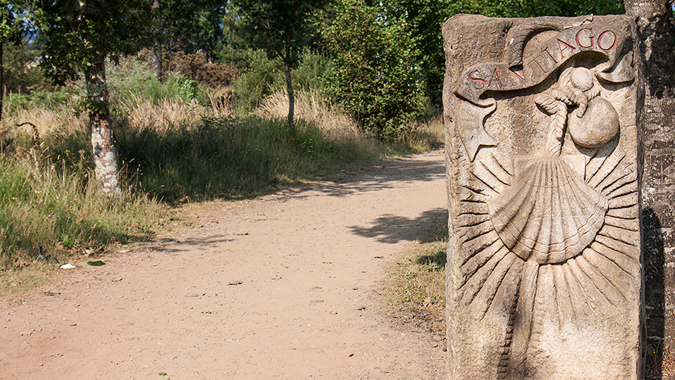 La peregrinación a Santiago en la Edad Media